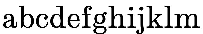 Munson Font LOWERCASE