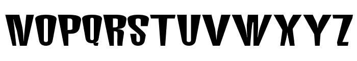 MunsterMash Bold Font UPPERCASE