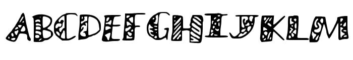 MuraLetters Font UPPERCASE