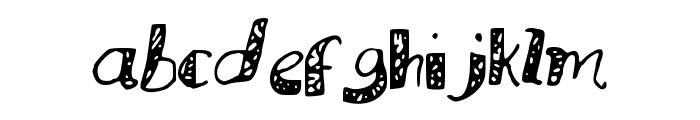 MuraLetters Font LOWERCASE