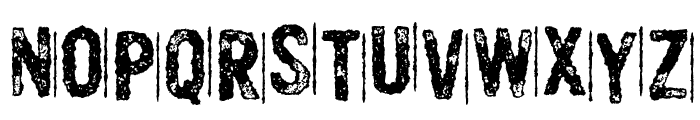 MurderousDesireDEMO Font UPPERCASE