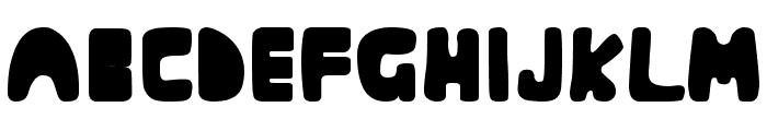 Muringa Font UPPERCASE