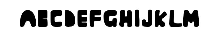 Muringa Font LOWERCASE