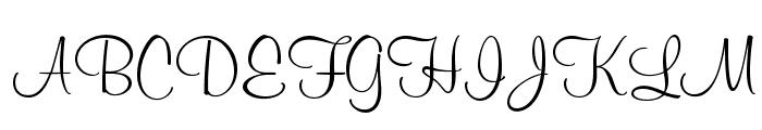 MurrayHillOpti-Regular Font UPPERCASE