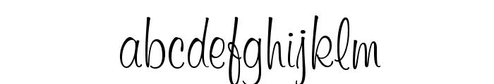 MurrayHillOpti-Regular Font LOWERCASE