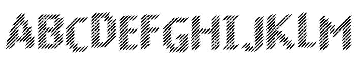 Murrx Font UPPERCASE
