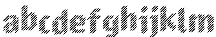 Murrx Font LOWERCASE