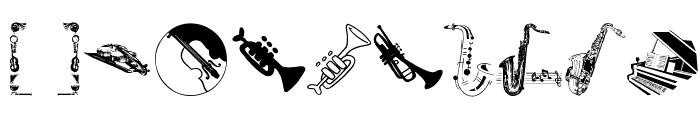 MusicInstruments Font OTHER CHARS