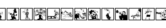 MusiciansOne Font LOWERCASE