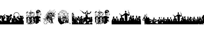 MusiciansTwo Font UPPERCASE