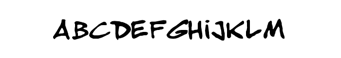 Musicos-variant-comics Font UPPERCASE