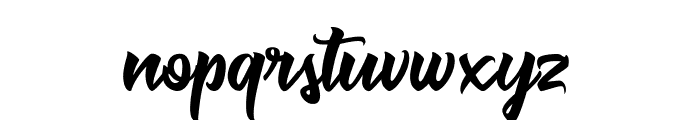 Muskaters Font LOWERCASE