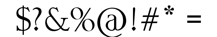 Mustache Gallery Font OTHER CHARS