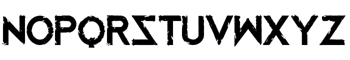 Mustafar Reloaded Font UPPERCASE