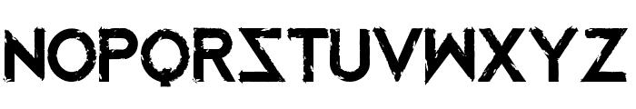 Mustafar Reloaded Font LOWERCASE