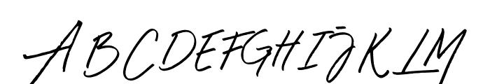 Mustank Font UPPERCASE