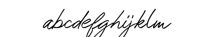 Mustank Font LOWERCASE