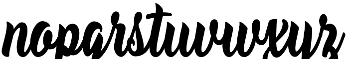 Mustard Personal Use  Font LOWERCASE