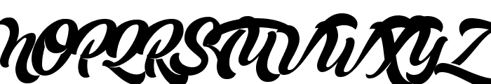 Mustardo Font UPPERCASE