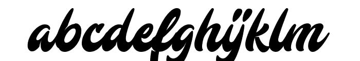 Mustardo Font LOWERCASE