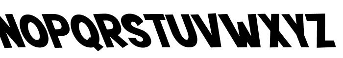 Mutchin Oblique Font UPPERCASE
