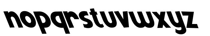 Mutchin Oblique Font LOWERCASE