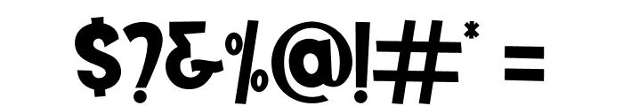 Mutchin Font OTHER CHARS