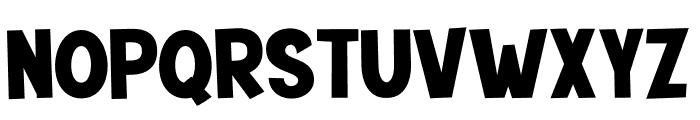 Mutchin Font UPPERCASE