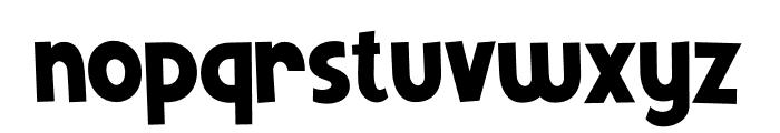 Mutchin Font LOWERCASE