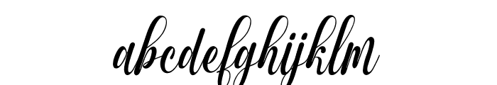 Muthya Font LOWERCASE