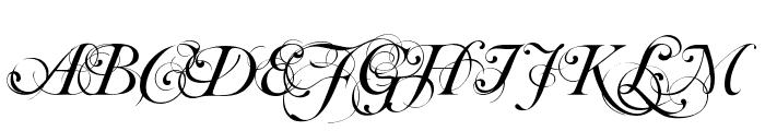 Mutlu  Ornamental Font UPPERCASE