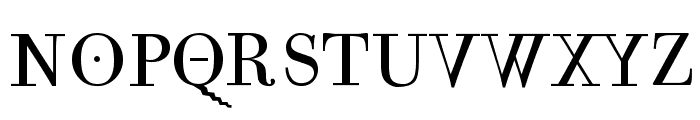 Mutoni Regular Font UPPERCASE