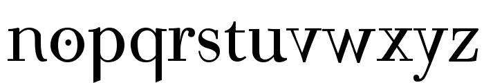 Mutoni Regular Font LOWERCASE