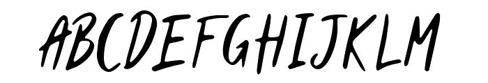 Muttcha Regular Font LOWERCASE