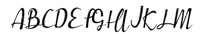Muttung - Rustic Font UPPERCASE