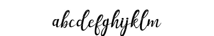 Muttung - Rustic Font LOWERCASE