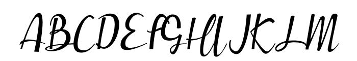 Muttung Font UPPERCASE