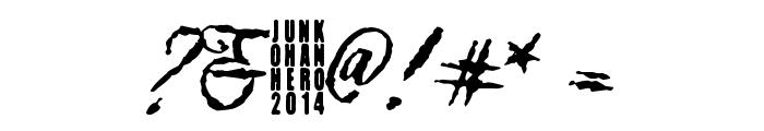Muurahaiskarhu Font OTHER CHARS