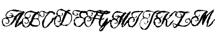 Muurahaiskarhu Font UPPERCASE