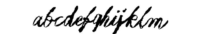 Muurahaiskarhu Font LOWERCASE