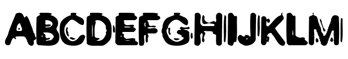Muzzle Font UPPERCASE