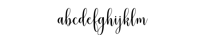 mudhisascriptdemo Font LOWERCASE