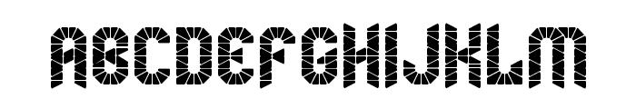 mummification Regular Font UPPERCASE