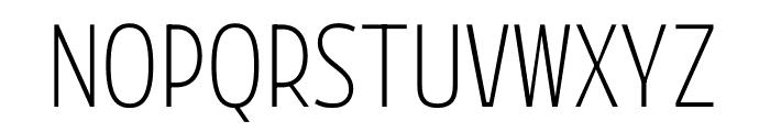 Mutator Sans Font UPPERCASE