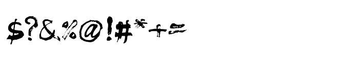 Muju Regular Font OTHER CHARS