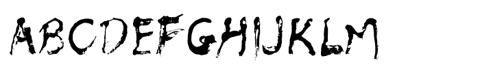 Muju Regular Font UPPERCASE