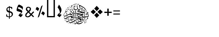 Muna Black Font OTHER CHARS