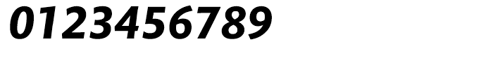Mundo Sans Bold Italic Font OTHER CHARS
