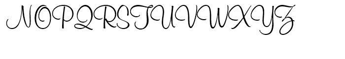 Murray Hill Regular Font UPPERCASE