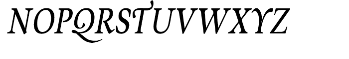 Musee Cursive Font UPPERCASE